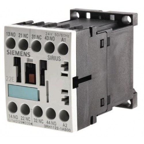 Siemens Sirius 4-Poles Contactor Relay with 24V AC Coil